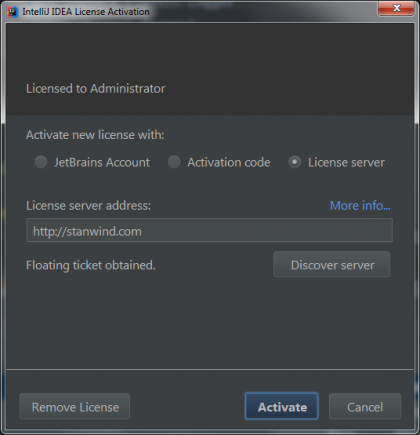 IntelliJ Idea 授权服务器使用